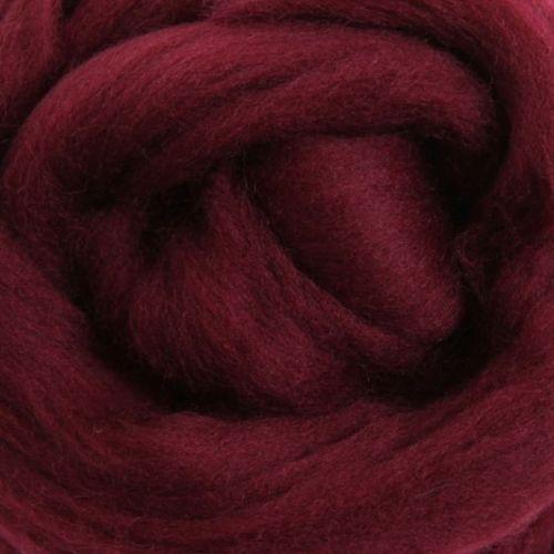 Wool Sliver - Aubergine