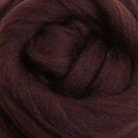 Wool Sliver - Chocolate