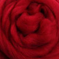 Wool Sliver - Cherry Red