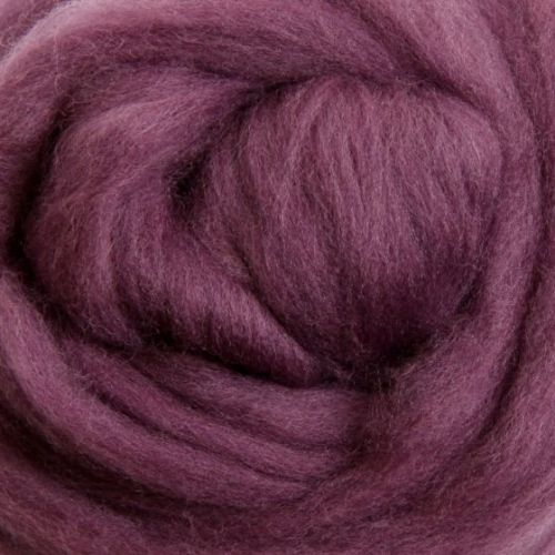 Wool Sliver - Grape Jelly M