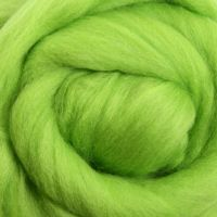 Wool Sliver - Lime M