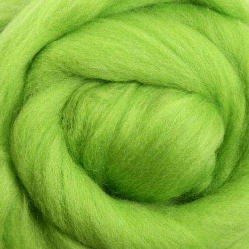 Wool Sliver - Lime