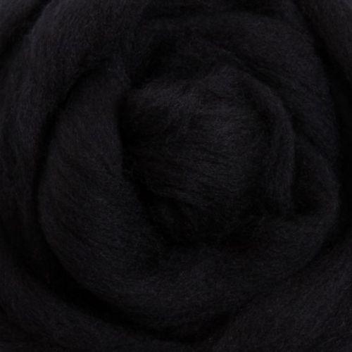 Wool Sliver - Liquorice M