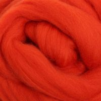 Wool Sliver - Pumpkin