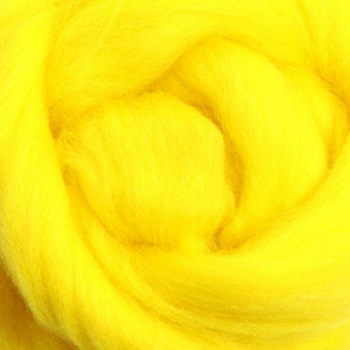 Wool Sliver - Yellow M