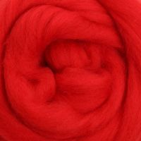 Wool Sliver - Chilli Pepper M