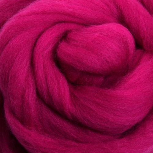 Wool Sliver - Magenta M
