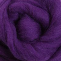 Wool Sliver - Purple M