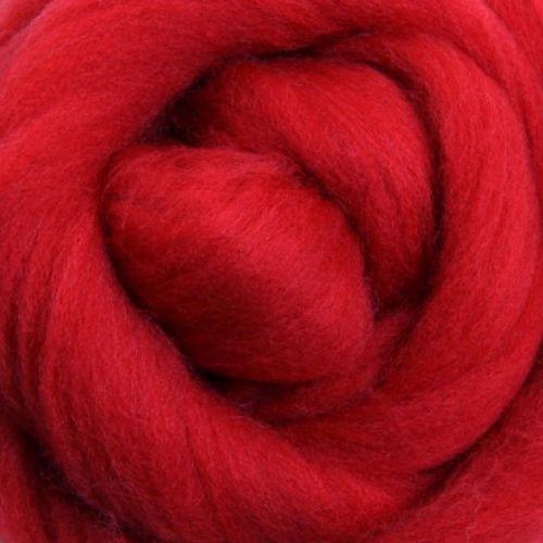 Wool Sliver - Scarlet M