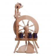 Traveller Spinning Wheel - Lacquered ASSEMBLED by collection ONLY