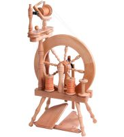 Traveller Spinning Wheel - DOUBLE DRIVE Drive Lacquered Ashford