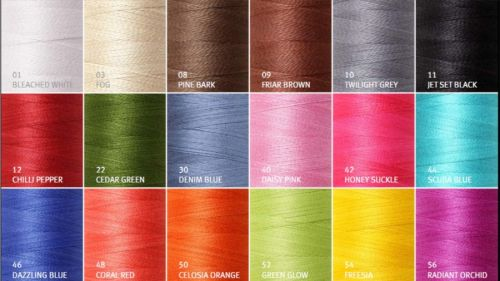 Cotton Complete Set of 18 5/2 mercerised