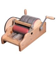 "Drum Carder 8"" with medium 72 ppsi cloth - Ashford"