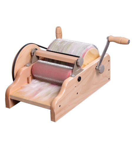 "Drum Carder 8"" with fine 120 ppsi cloth - Ashford"