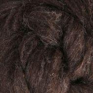 Wool Sliver - Dark brown - natural C