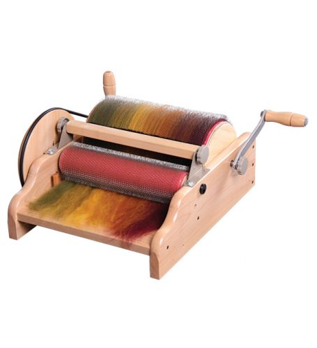 """Drum Carder 12"""" with medium 72 ppsi cloth - Ashford  Pre-order ONLY"""