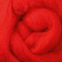 Wool Sliver - Chilli Pepper C