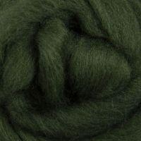 Wool Sliver - Fern Green C