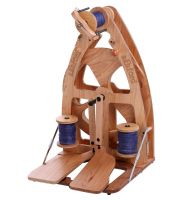 Joy2 Spinning Wheel Double Treadle with Carry Bag by Ashford