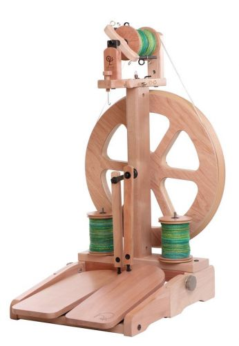 Kiwi 3 Spinning Wheel Bare Timber by Ashford