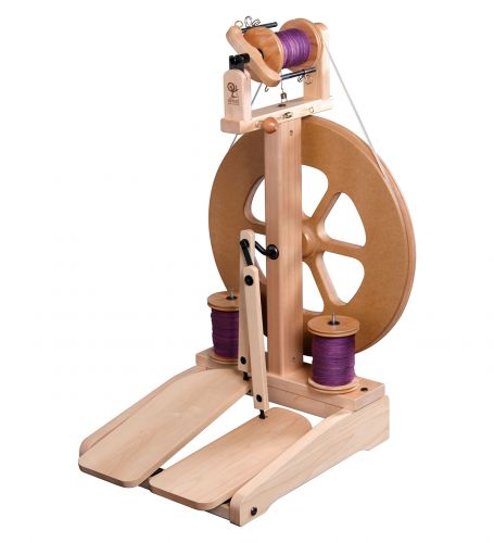 Kiwi Spinning Wheel by Ashford NZ Lacquered