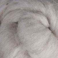 Wool Sliver - Light Grey - natural C
