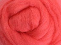 Wool Sliver - Coral M