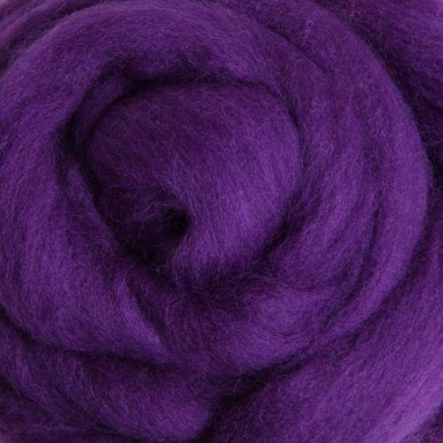 Wool Sliver - Amethyst C
