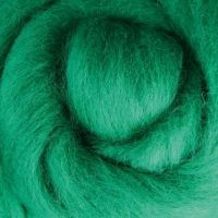 Wool Sliver - Green C