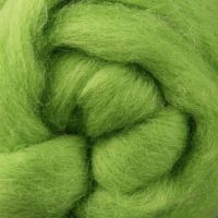Wool Sliver - Lime