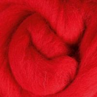 Wool Sliver - Scarlet C