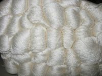 Silk Yarn 8/2 - White  500gm hanks
