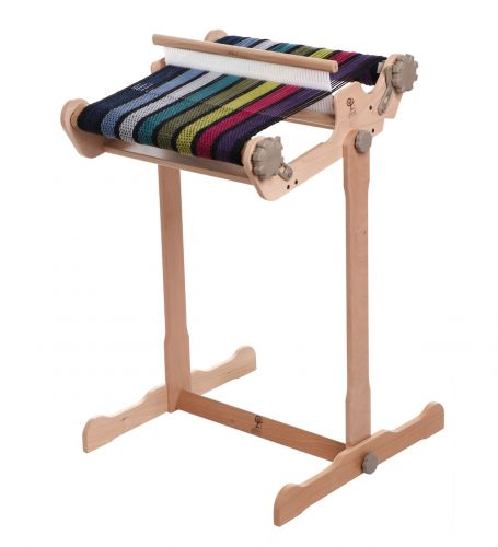 SampleIt Loom 25cm by Ashford - lacquered, assembled ex shop display, with stand