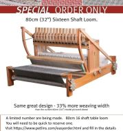 Ashford Table Loom 80cm 16 shafts - Limited edition