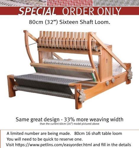 Ashford Table Loom 80cm 16 shafts - Limited edition
