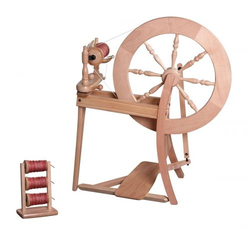 Traditional Spinning Wheel by Ashford - lacquered